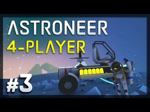Get Astroneer - #3 - Bumpy Ride! (4-Player Astroneer Gameplay) Snapshots