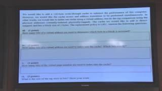 Recitation 3 - Virtual Memory and Beyond - Carnegie Mellon - Comp. Arch. 2015 - Onur Mutlu Mp3