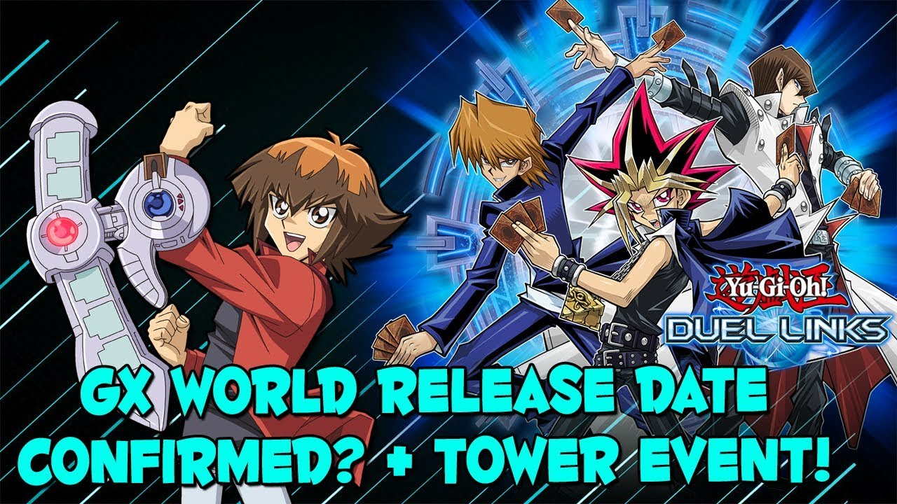 yu gi oh duel links gx world release date confirmed