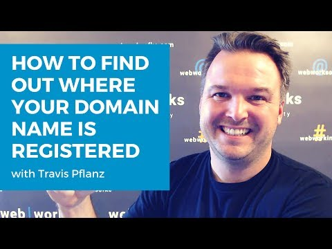 How To Find Out Where Your Domain Name Is Registered