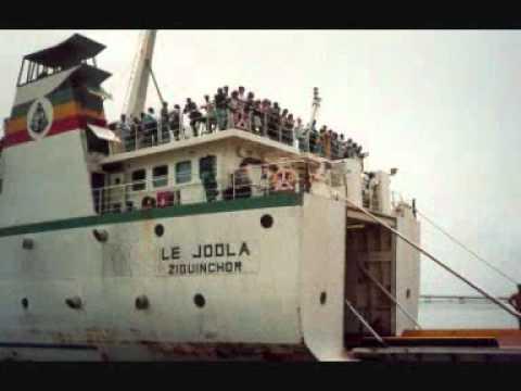 Le  bateau le Joola