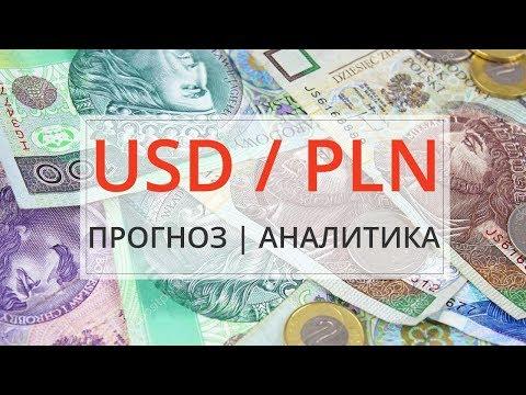 Прогноз курса валютной пары Доллар и Польский злотый USDPLN на форексе