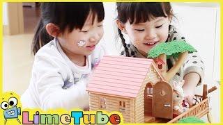 라임의 실바니안 패밀리 트리하우스 인형집 ❤︎ 뽀로로와 함께하는 장난감 놀이 LimeTube & Toys Play 라임튜브
