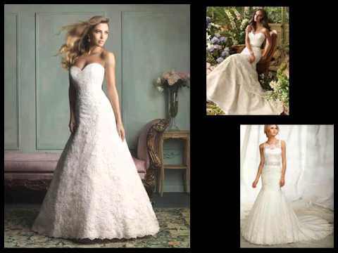 Wedding Gowns Styles Lace Dresses For Bridal