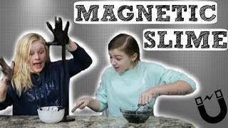 DIY Magnetic Slime & How to Fix Hard Slime!