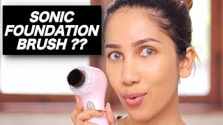 Nyobain CLARISONIC - Sonic Foundation Brush | suhaysalim