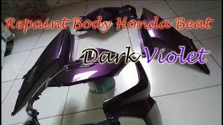 Tips & Trik pengecatan warna Dark Violet
