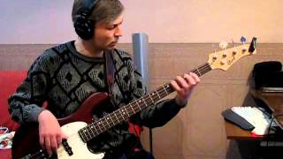 Gary Moore - Still got the blues (Bass cover)