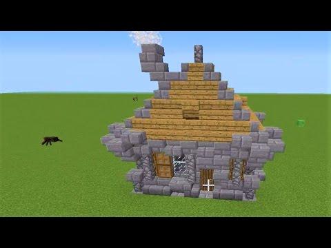 Minecraft kleines mittelalterliches haus bauen youtube for Kleines minecraft haus