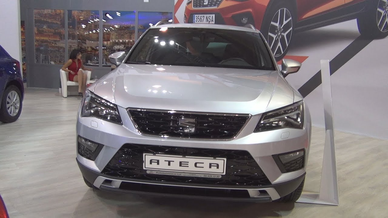seat ateca xcellence 2 0 tdi 190 hp 7at 2018 exterior and interior youtube. Black Bedroom Furniture Sets. Home Design Ideas