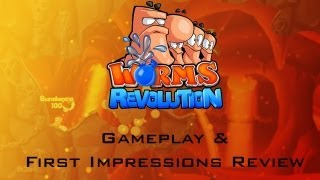 Worms Revolution PC Gameplay Analysis and First Impressions Review