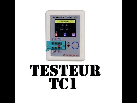 Cyrob : Revue Du Testeur De Composants Couleur Tc1 - Youtube
