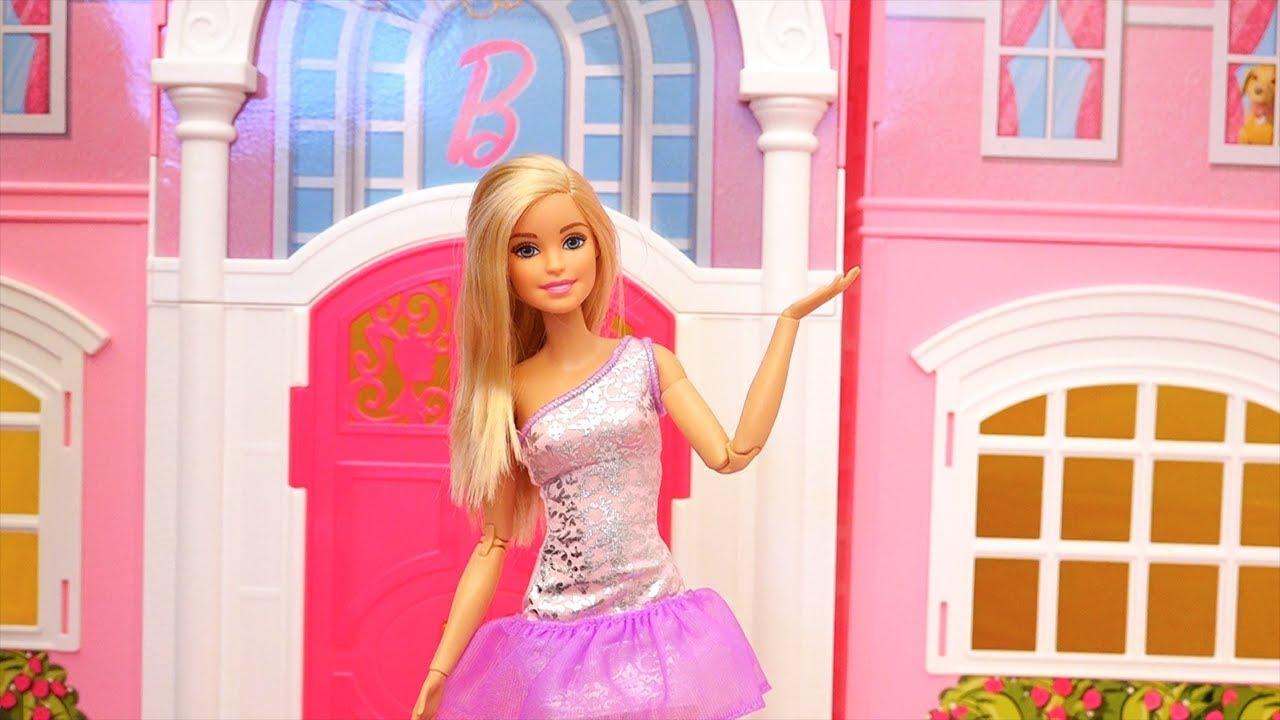 209b149b1 Tour Pela Casa dos Sonhos da Barbie! - Review da Mansão da Barbie ...
