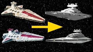 Why Every Venator-class Star Destroyer was Eliminated by the Empire