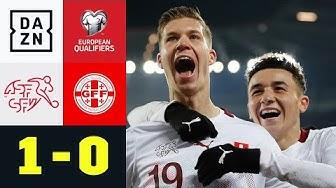 Debütant Itten mit dem Tor zur Europameisterschaft? Schweiz - Georgien 1:0 | EM-Quali | DAZN