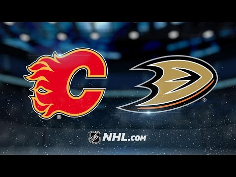Smith, Flames shut out Ducks, 2-0