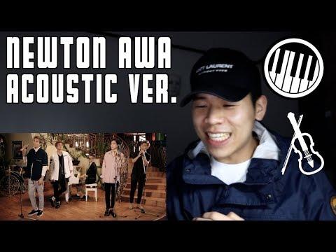 NEWTON AWA acoustic version! Let's enjoy together))