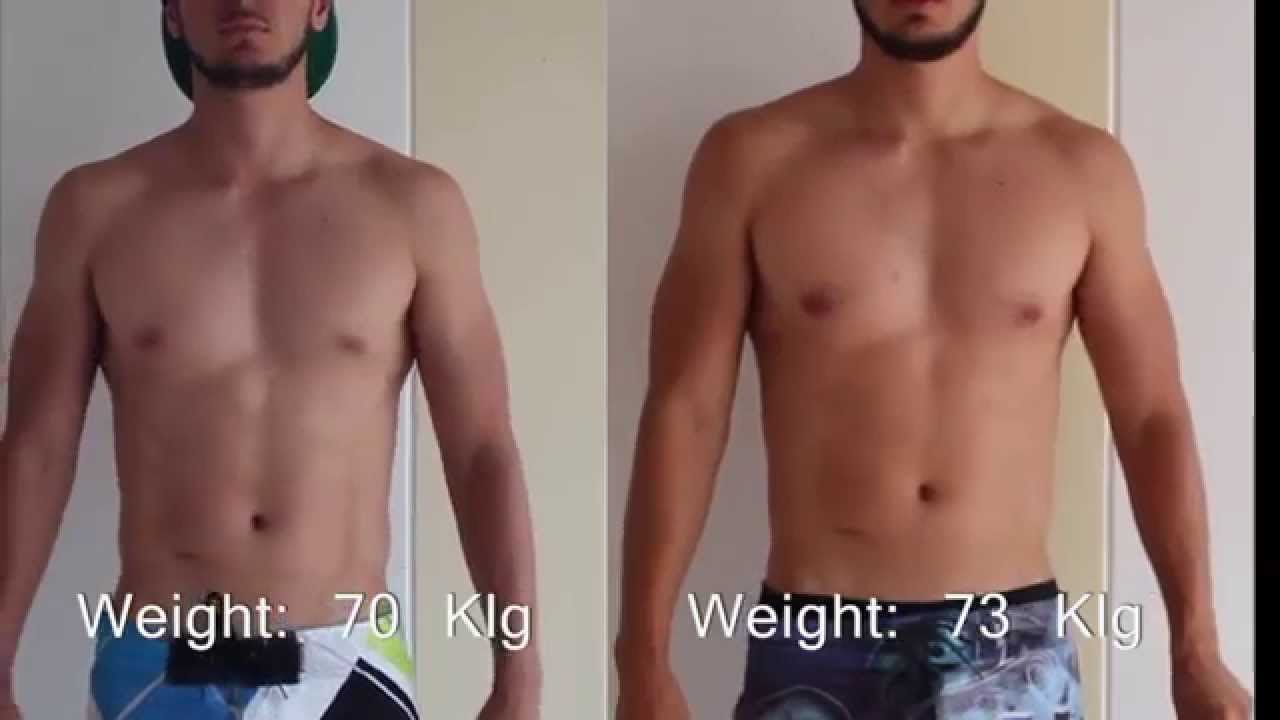 Weight gainer results