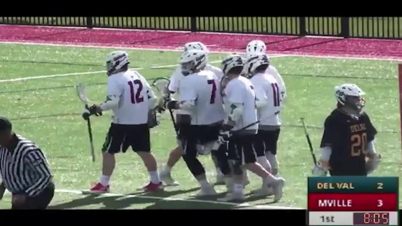 Manhattanville College Men's Lacrosse vs. Delaware Valley ...