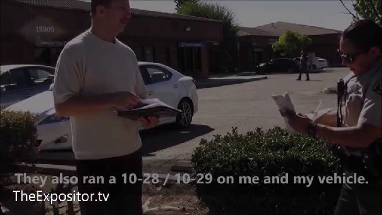 Police detain me for preaching & showing video to Planned Parenthood patients -lady sabotages vi