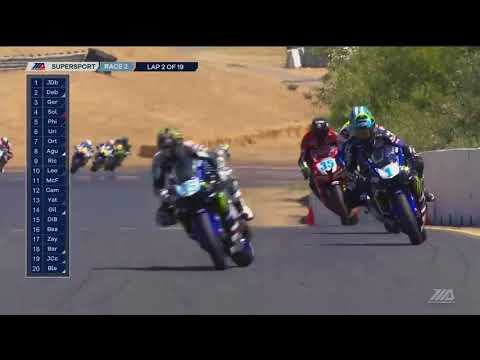 FULL RACE : Supersport Race 2 from Sonoma Raceway