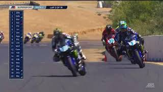 Video FULL RACE : Supersport Race 2 from Sonoma Raceway download MP3, 3GP, MP4, WEBM, AVI, FLV Agustus 2018