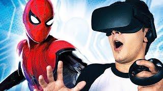 СИМУЛЯТОР ЧЕЛОВЕКА-ПАУКА в Oculus Rift!