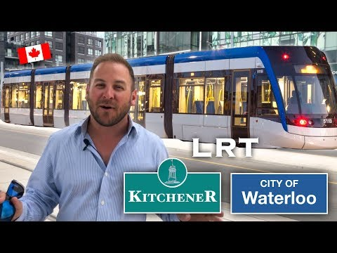 ION Kitchener Waterloo LRT: Info And Ride