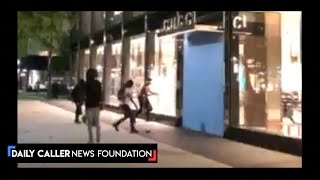 Protesters Loot Across DC, Even In Calm Areas