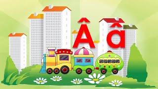 Bé học chữ cái tiếng việt   em tập đọc bảng 29 chữ cái abc cho trẻ mầm non   Dạy trẻ thông minh sớm