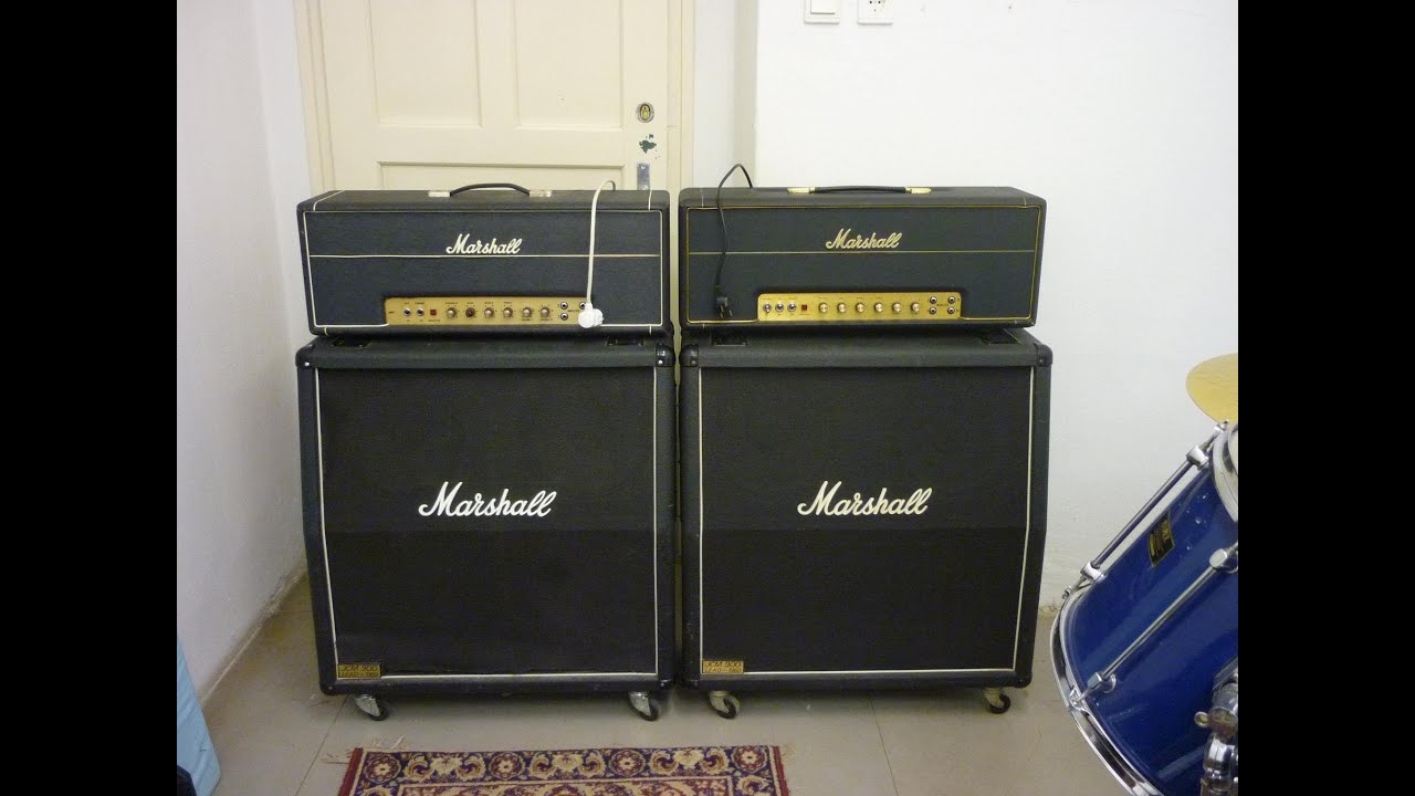 Marshall Super Bass Copy Vs Orginal Marshall Super Lead
