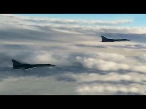 Russian planes approach US airspace for 4th night in a row