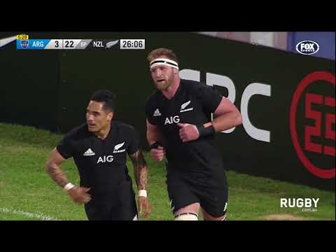 The Rugby Championship 2017: Argentina vs. All Blacks
