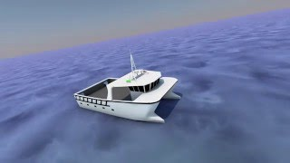 PRO CAT. The First GRP Workboat Catamaran. Made in USA.