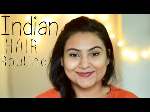 Indian hair care routine for Dry, damaged,...