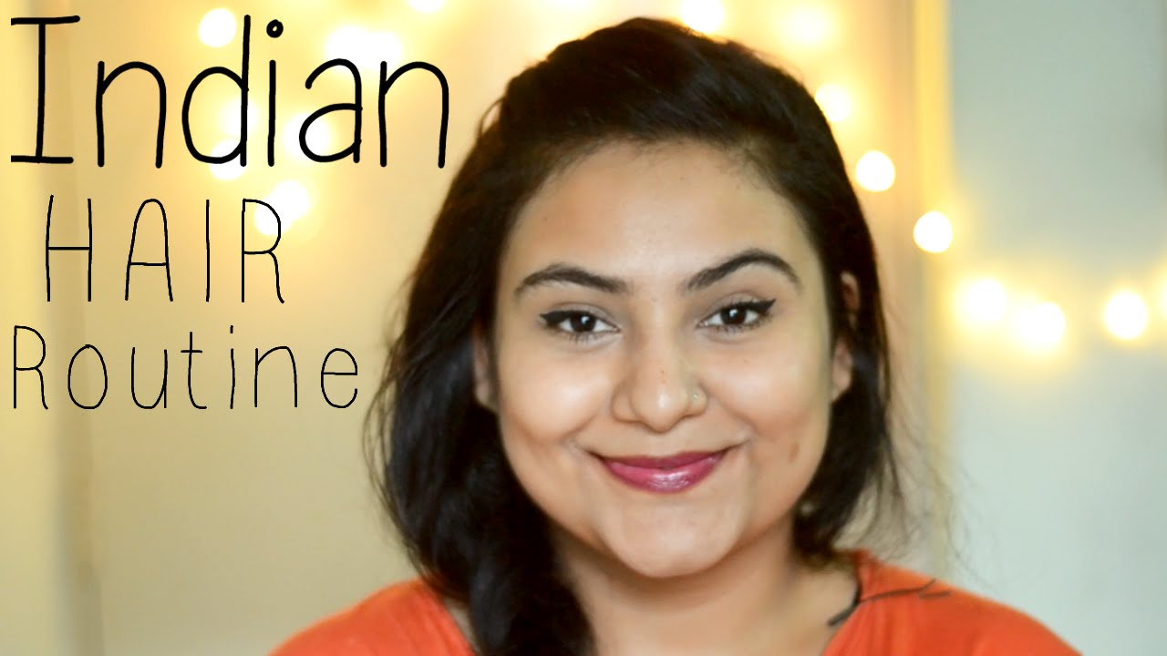 indian hair care routine dry