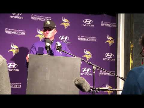 12/2/18: Mike Zimmer press conference following loss to Patriots