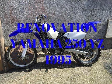 RESTAURATION Yamaha 250 yz 1995