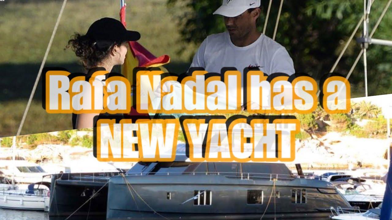 Rafa Cleaning His New Yacht Rafael Nadal Youtube