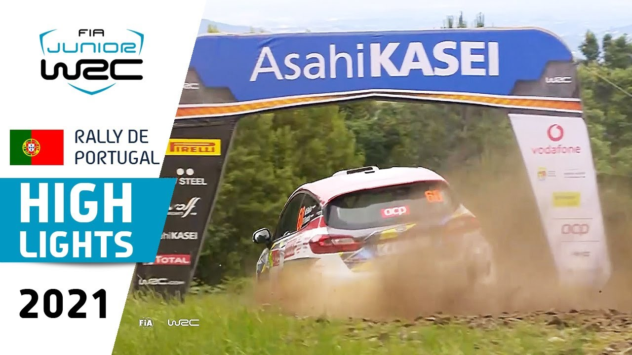 Junior WRC - Highlights Day 1 - WRC Vodafone Rally de Portugal 2021