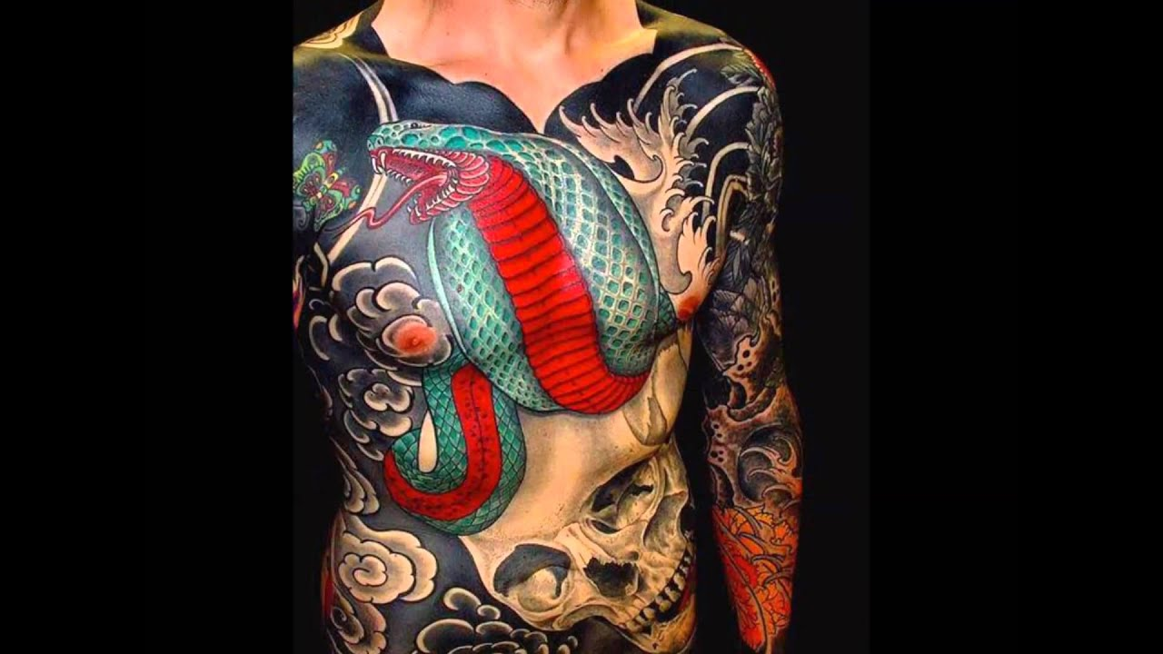 Best japanese tattoos - YouTube