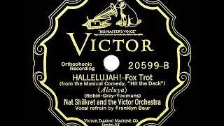 1927 HITS ARCHIVE: Hallelujah! - Nat Shilkret (Franklyn Baur, vocal)