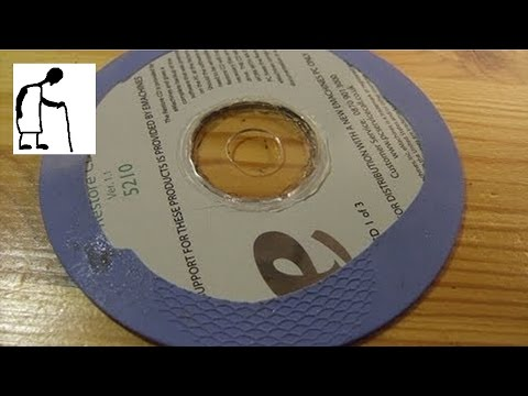 Helpfile - how to put tyres on CDs for model car projects