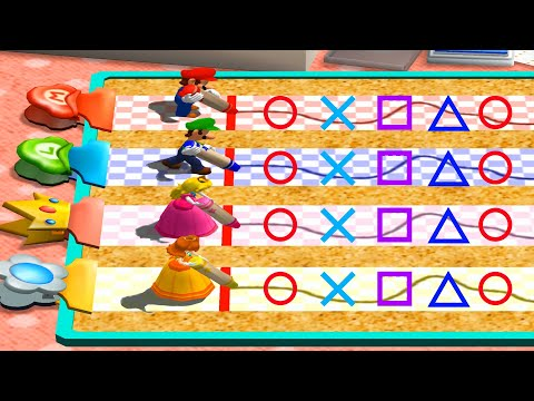 Mario Party 4 - All Minigames (Master Difficulty)