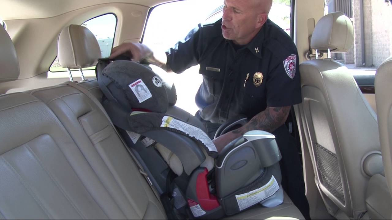 Car Seat Safety Front Facing Install Child Placement