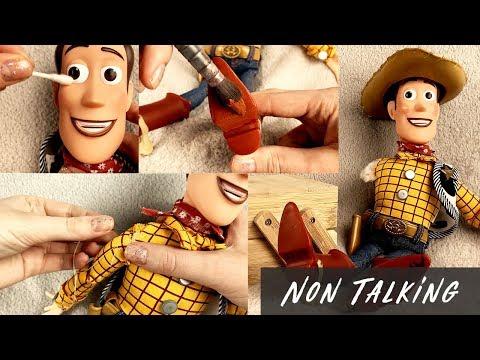 ASMR Woody Repair Toy Story (Non Talking)