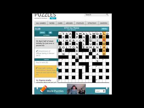 The Independent Prize Crossword By Maize: 18 Nov 2017