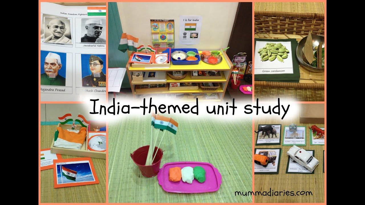 India Themed Unit Study For Toddlers Preschoolers W FREE Printables