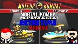 Mortal Kombat version Mario kart (Motor Kombat)