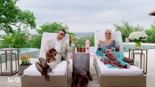 "The Miz and Maryse give a preview of their upcoming series ""Miz & M..."